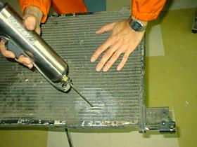 Напыление на алюминий своими руками